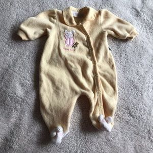 5/$25 BABY V collared pyjamas with bunny details
